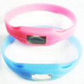 Sports Anion Bracelet Jelly Wrist Watch